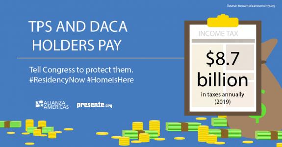 TPS & DACA Tax Day 2021