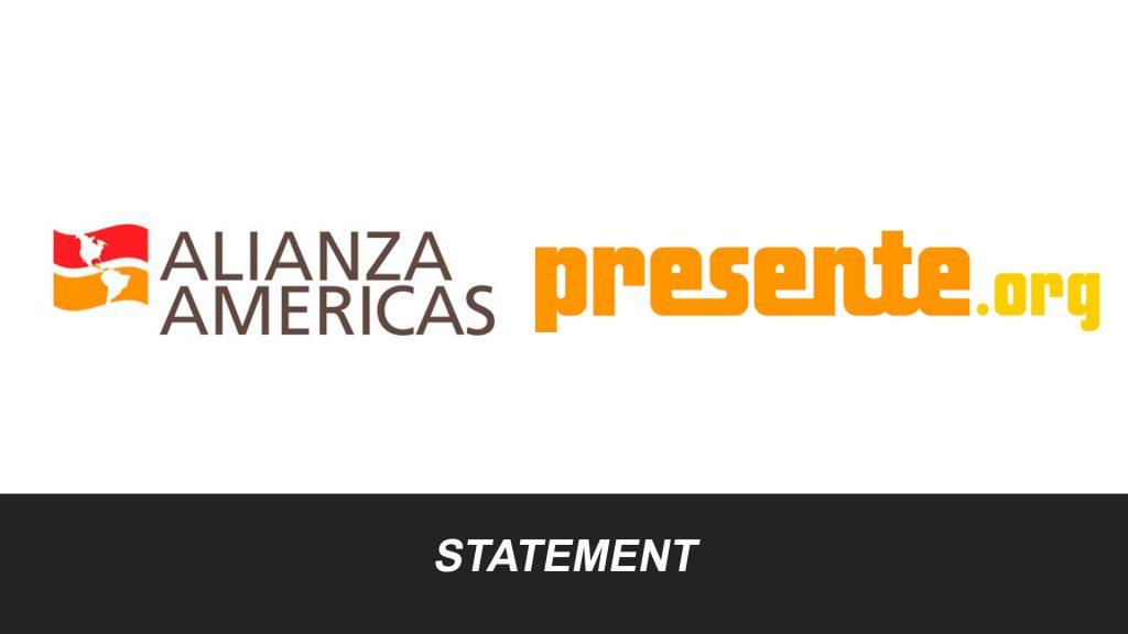 Alianza Presente Statement