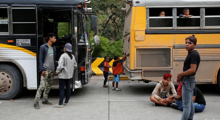 Migrants Hondureños
