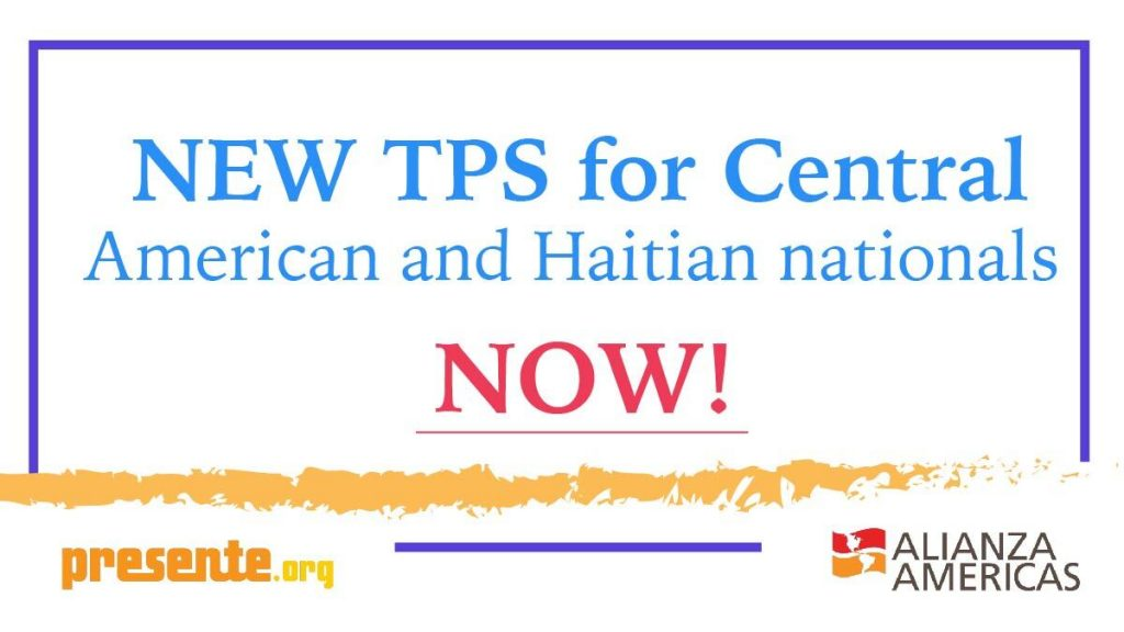 New TPS for Central American and Haitian nationals