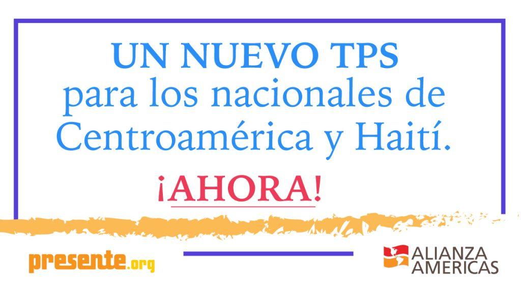 Un Nuevo TPS para los nacionales de Centroamerica y Haiti
