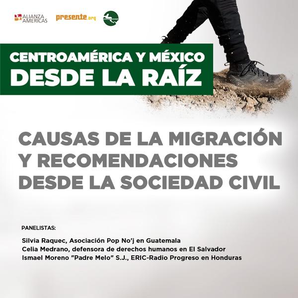 Centroamerica y Mexico desde la Rais